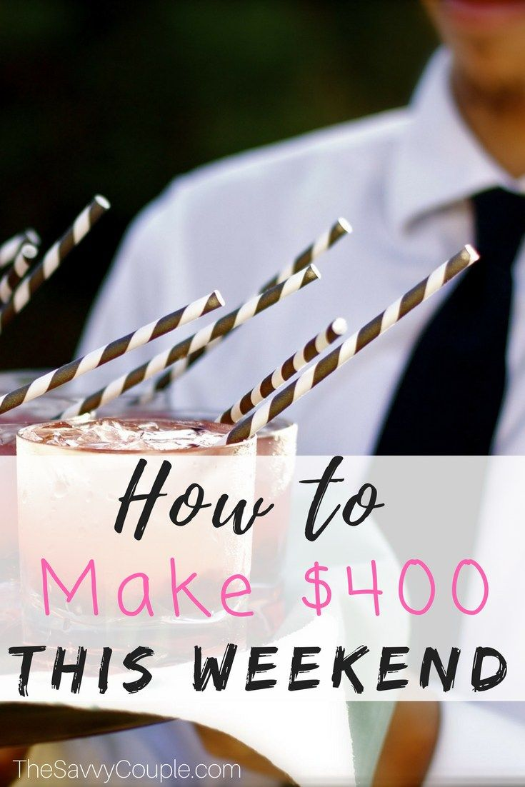 A Perfect Side Hustle For Making Extra Money This Weekend We Made Hundreds Of Dollars