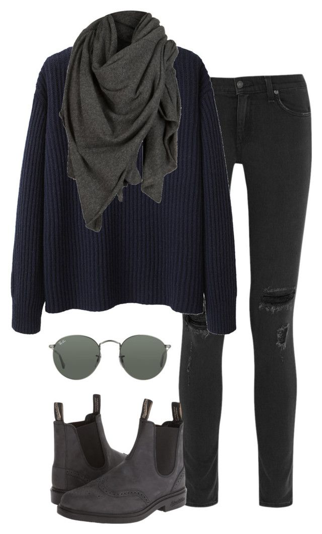 """""""Untitled #319"""" by lucy-xoxo ❤ liked on Polyvore featuring rag & bone, Blundstone, Ray-Ban, Wood Wood and AllSaints"""