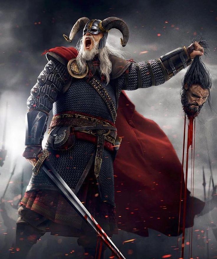 Картинка фэнтези викинги