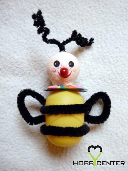 Kreatív ötletek gyerekeknek: Méhecske    http://www.hobbycenter.hu/Gyereksarok/mehecske.html#axzz2LcbHEtGO