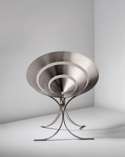 steel furniture designs. maria pergay steel furniture designs