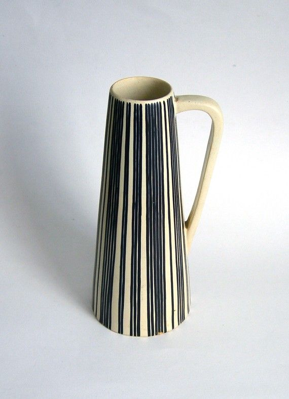 Vintage Scandinavian Pitcher by LaVieDeLimbuni on Etsy