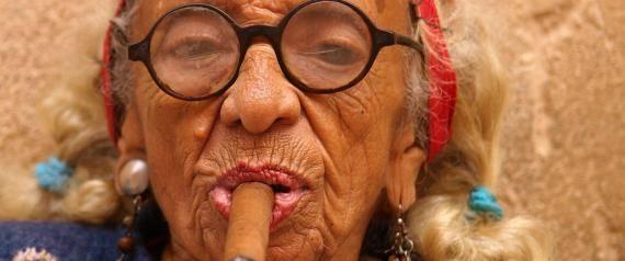 Smokin' Graciela, Havana's Famous Cigar Lady, Is Truly Badass