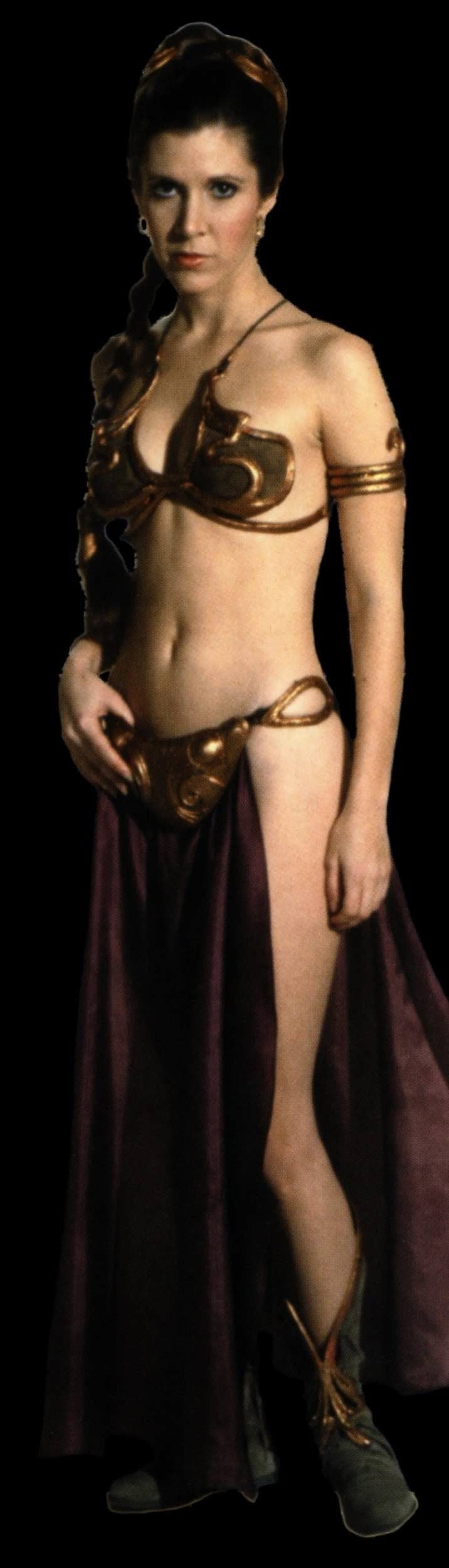 Photo of Slave Leia for fans of Princess Leia Organa Solo Skywalker.