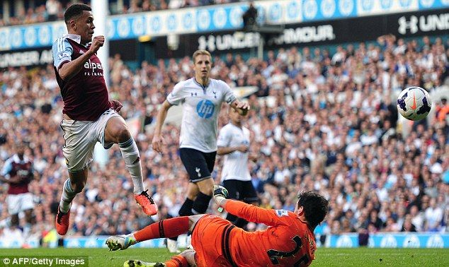 Ravel Morrison announced his arrival on the Premier League stage with a stunning solo goal for West Ham at White Hart Lane in 2013