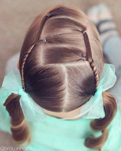 peinados para nias ligas