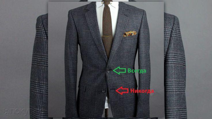 Застегивать или расстегивать? Правила пуговиц на мужском пиджаке - http://www.yapokupayu.ru/blogs/post/kak-pravilno-zastegnut-muzhskoy-pidzhak-osnovnye-pravila