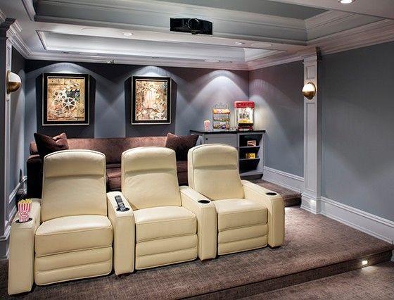 Best 10 Basement Tv Rooms Ideas On Pinterest