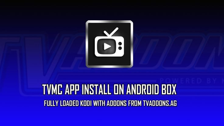 TVMC Install on Android Box