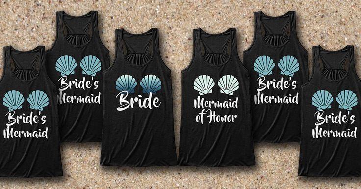 Bridal Party tanks Mermaid Style!!!