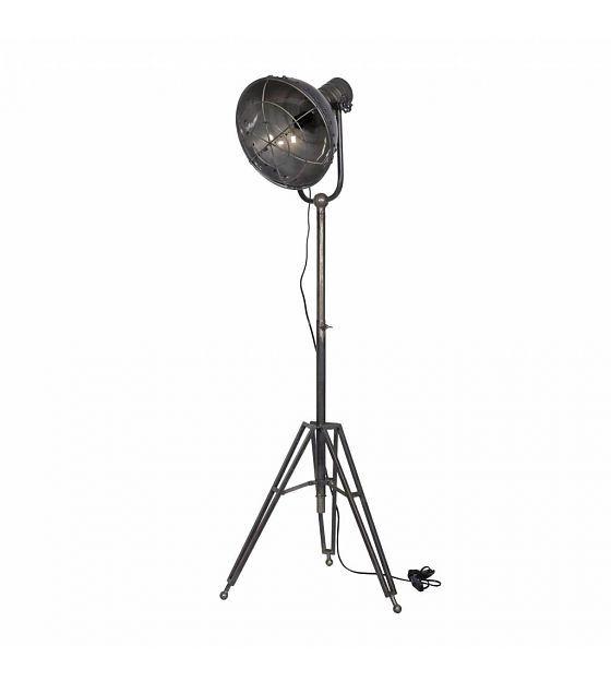 BePureHome Vloerlamp spotlight antraciet metaal 167x54x45cm - wonenmetlef.nl