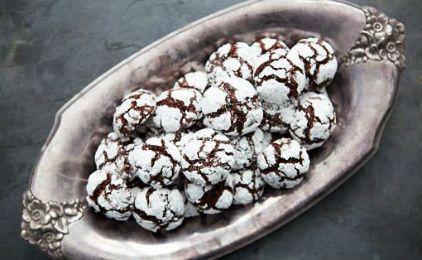 Σοκολατάκια με ζάχαρη άχνη