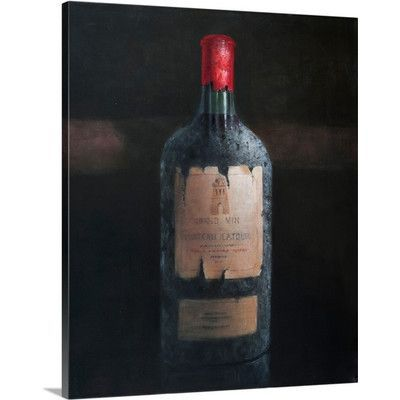 Canvas On Demand Chateau Latour, 2012 by Lincoln Seligman Photographic Print on Canvas
