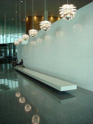 Louis Poulsen: PH Artichoke in Tampa Airport laluce Licht&Design Chur