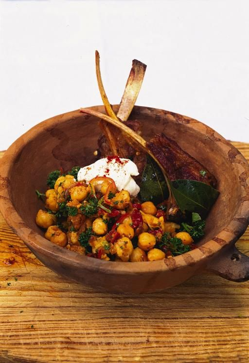 This is really quick and easy and could be done for a barbecue, if the weather's nice enough. It's really worth using decent chickpeas, my favourite are cans of El Navarrico chickpeas from www.brindisa.com