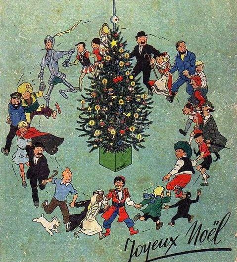 Fêter Noël avec Tintin - Pour Ado