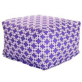 Majestic Home Goods Purple Bean Bag Chair 85907220265