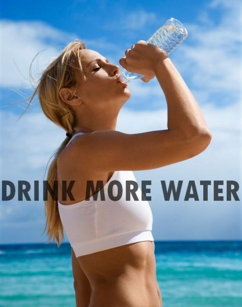 Is this the key to losing weight??     This is very true!! Take your weight and divide it by 2. This is how much water you should drink a day. Try to make it purified instead of tap. If youre hungry after the smoothie, drink at least 8 oz before eating. You may have been thirsty, not hungry. Drink up!