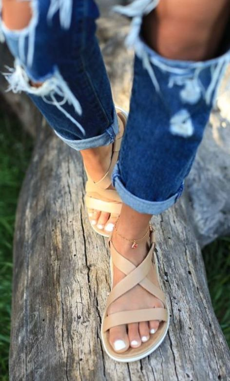 Cute cheap sandals for the spring and summer!