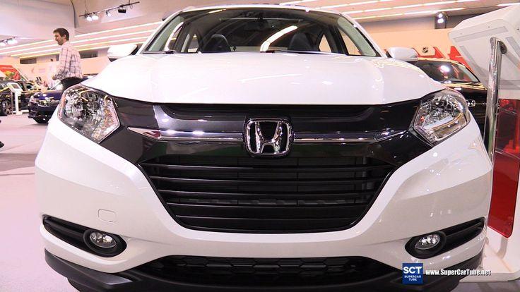 2016 Honda HRV AWD Exterior and Interior Walkaround