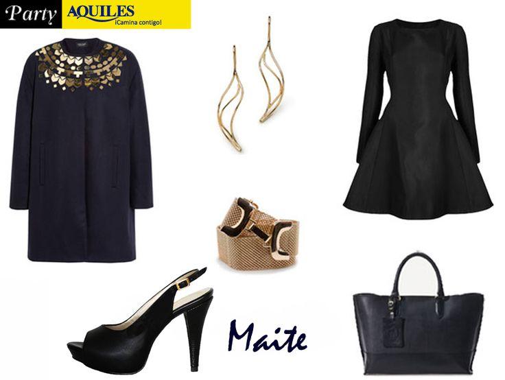 Para este viernes de tips, tenemos el look perfecto para salir de fiesta!!!   La mejor elección son nuestras zapatillas Maite!  Te esperamos!!!
