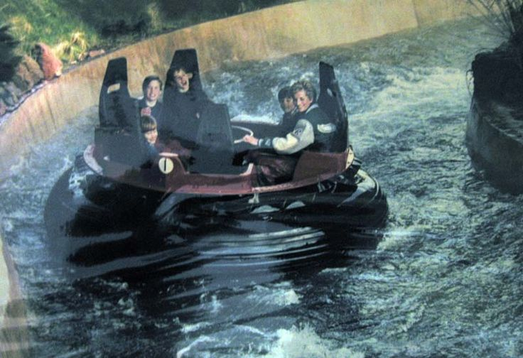 My picture of Princess Diana on the log flume at Alton Towers. Picture copyright Smith Davis Press. Through my work I've been very fortunate (if you like ...