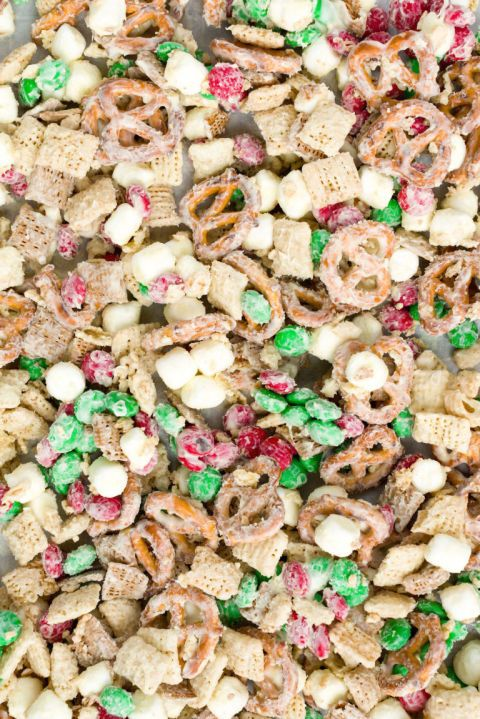 """This """"reindeer bait"""" will work on your holiday guests, too!  Get the recipe at Delish."""