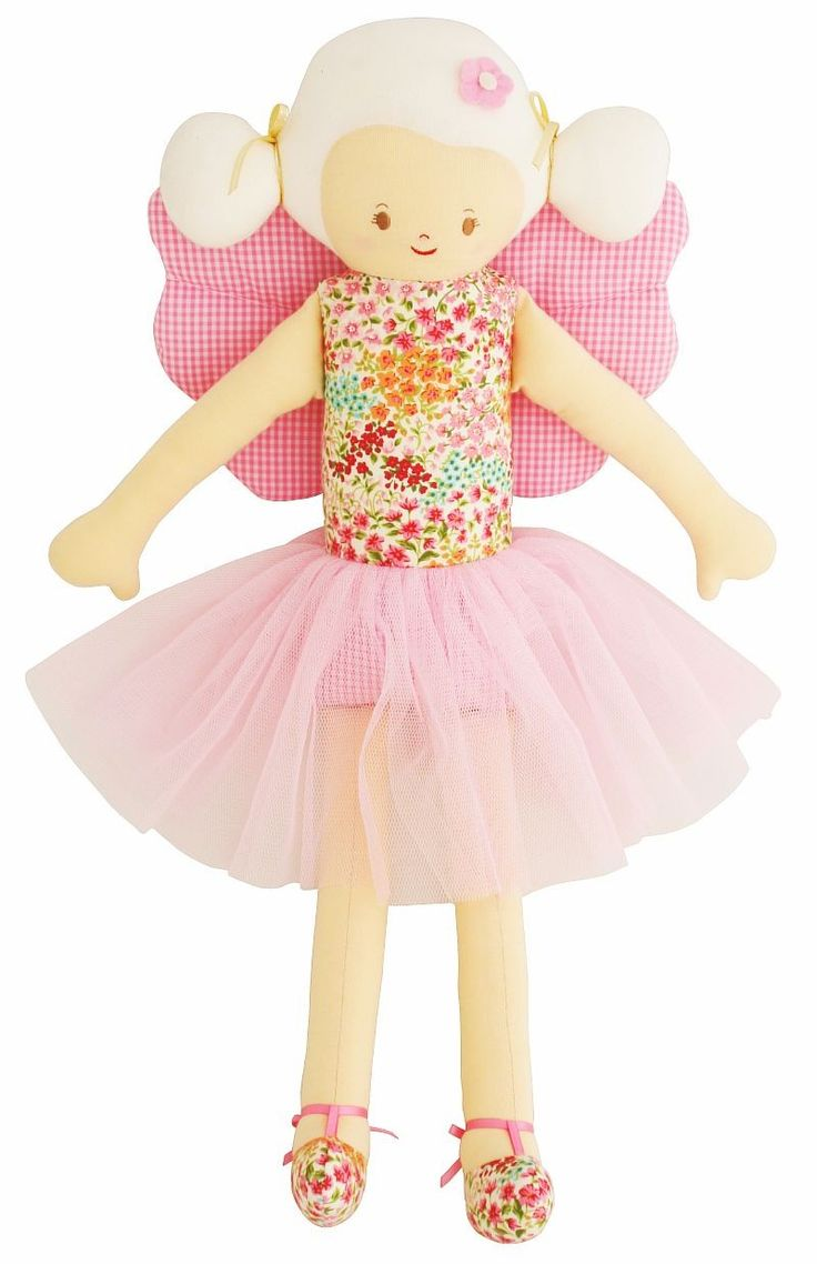 Alimrose Fairy Doll - $49 Fairy Doll - Spring Garden  Measures 48cm tall This pretty fairy doll has her very own wand and soft fairy wings