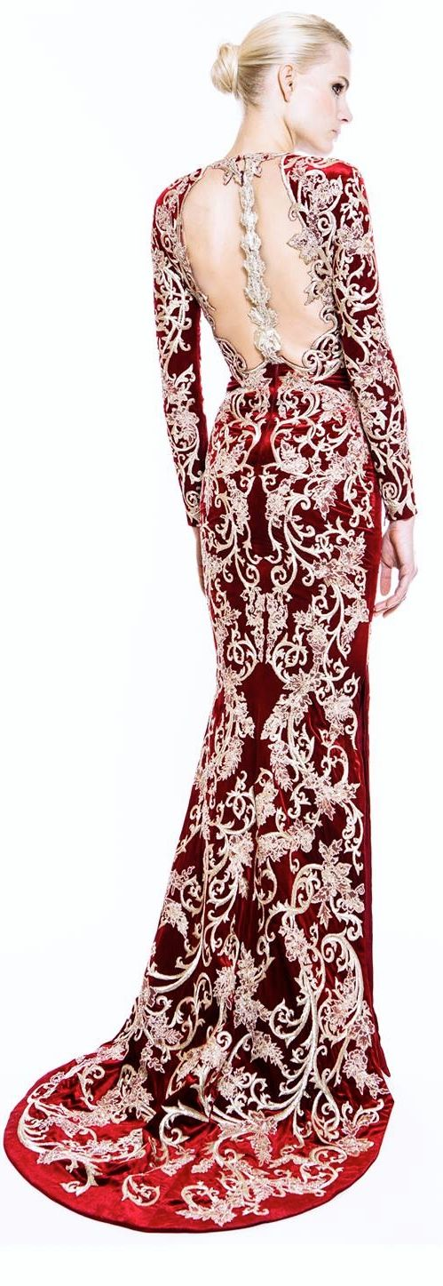 evening #dress For Women (I would put this on the Queen of Hearts in Once Upon A Time in Wonderland)