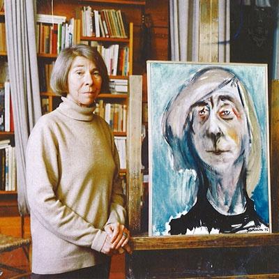 Tove Jansson self portrait?