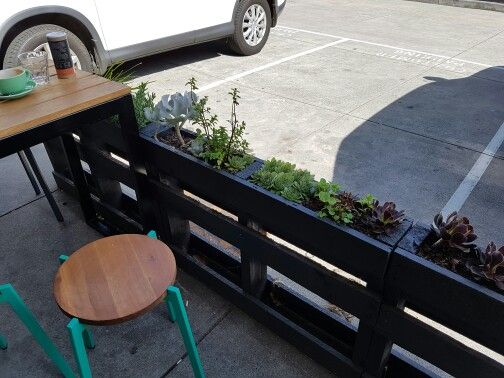 Succulents in narrow planters for deck edge?