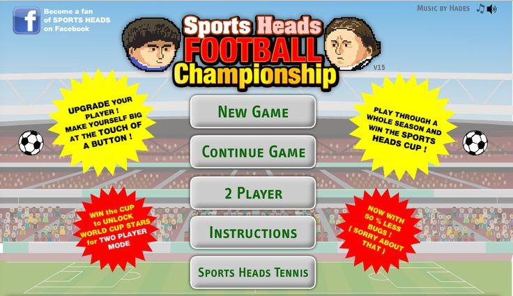Play Big Head Football Championship - AllProGame.com
