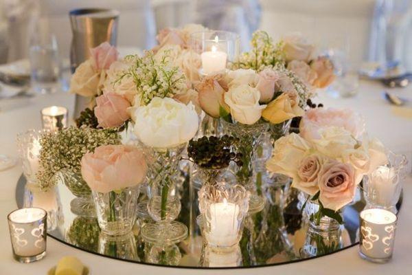 Wedding candles – romantic warm light! – Archzine.net  – Hochzeit