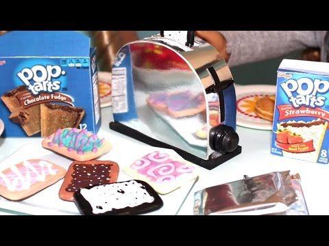 Doll Pop Tarts DIY | American Girl Doll Crafts - YouTube