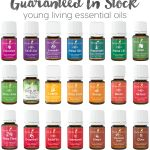 20+ Guaranteed In Stock Young Living Essential Oils