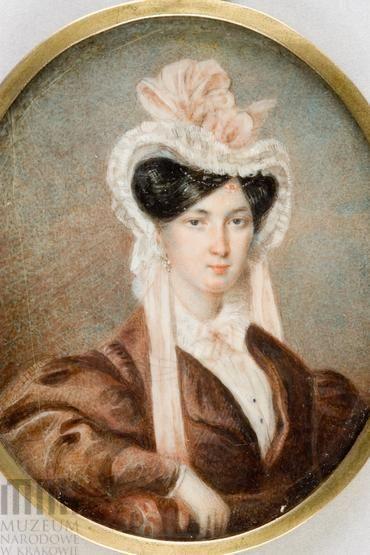 Валентий-Вильгельм Ванькович. Амелия Чельмиковская (1840)