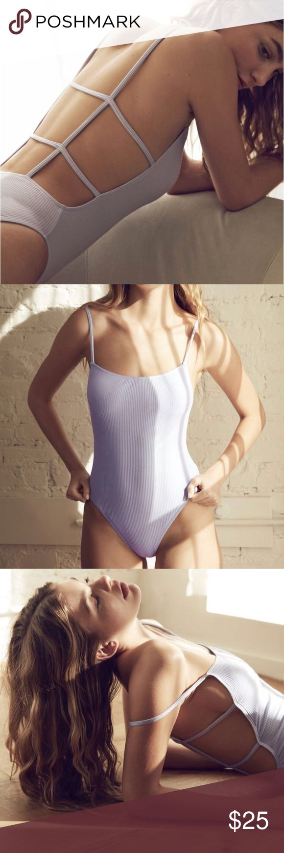 URBAN OUTFITTERS ANNIE STRAPPY BACK BODYSUIT URBAN