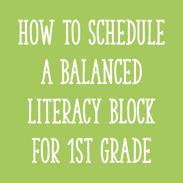 In this post, I'll take you through the components of a balanced literacy block for first grade, provide sample schedules, and share scheduling tips.