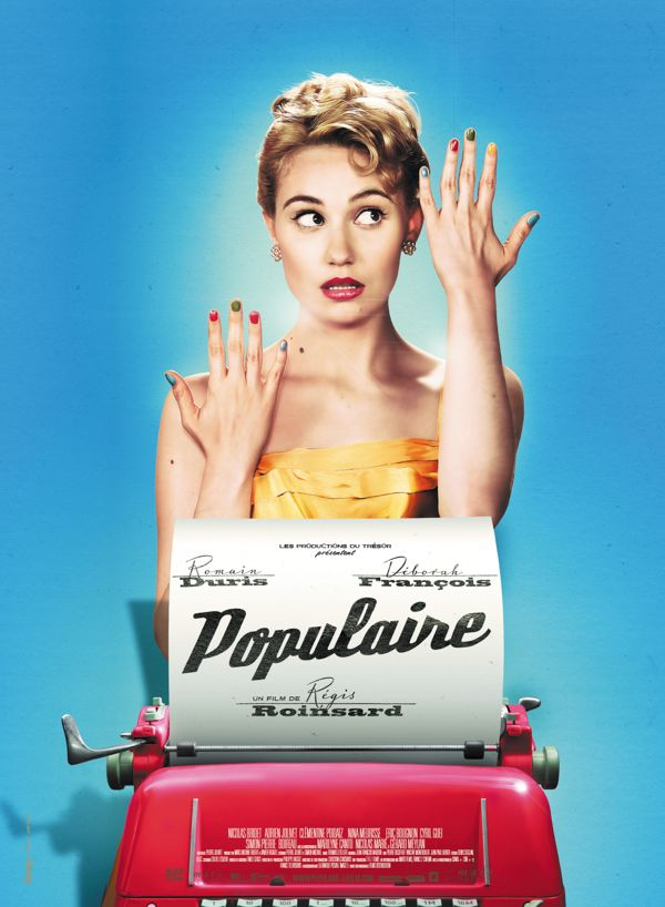 POPULAIRE - movie poster by Julien Lemoine, via Behance