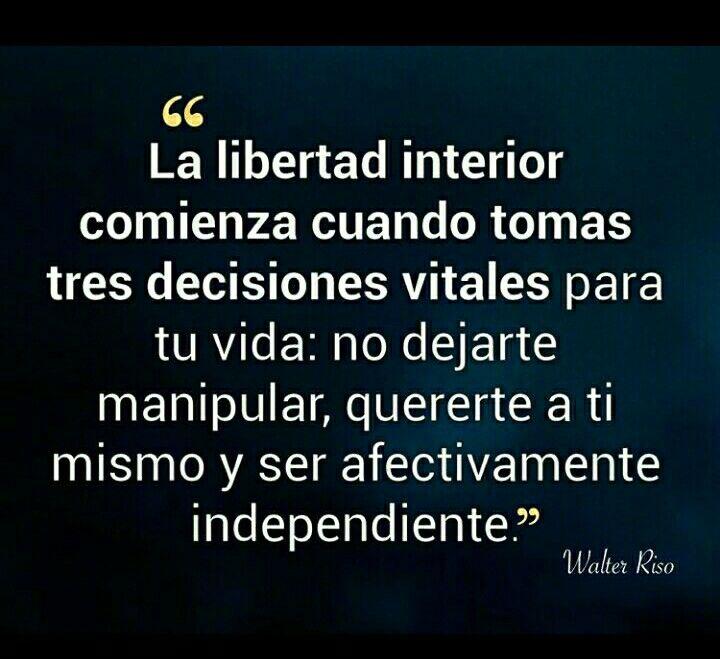 Libertad Interior 1no Dejarte Manipular 2 Quererte A Tí