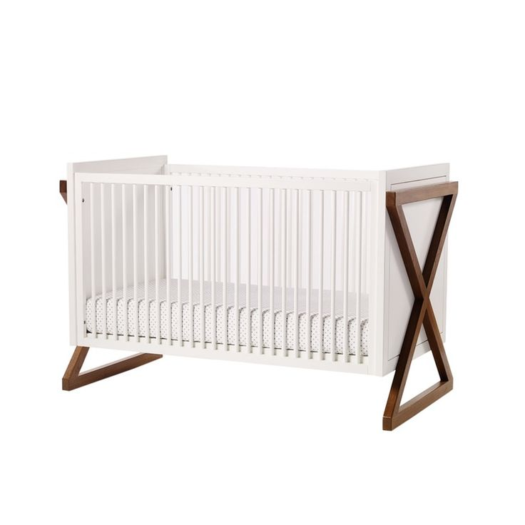 Campaign Crib From Ducduc Llc  MidCentury  Modern, Wood, Bed by New York Design Center