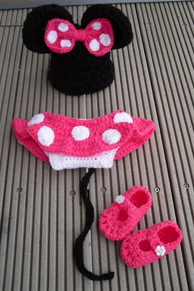 Minnie Mouse Diaper Cover Crochet Pattern Gallery Knitting