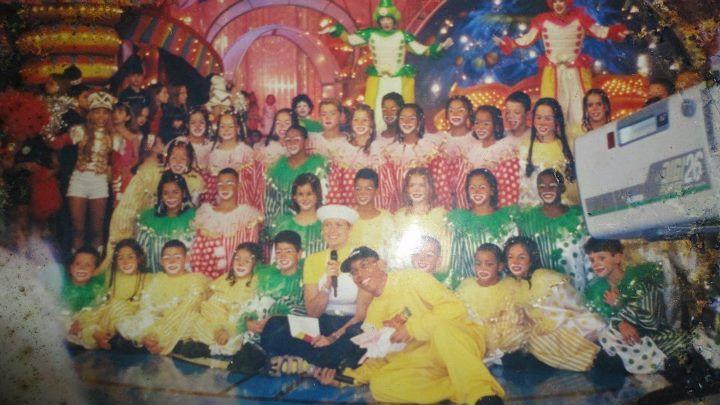 Cia Infantil Dancinha de Rua, no programa especial de 10 anos do programa Xuxa Park - Rede Globo.