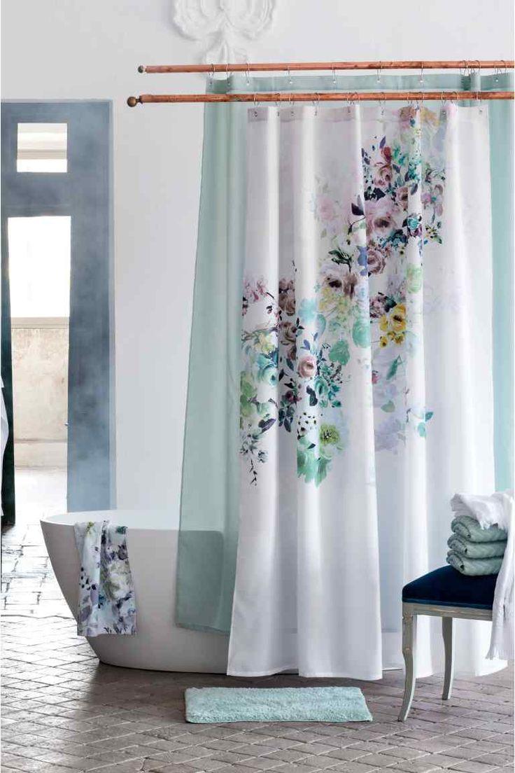 Resultado de imagen para cortinas para baños modernas