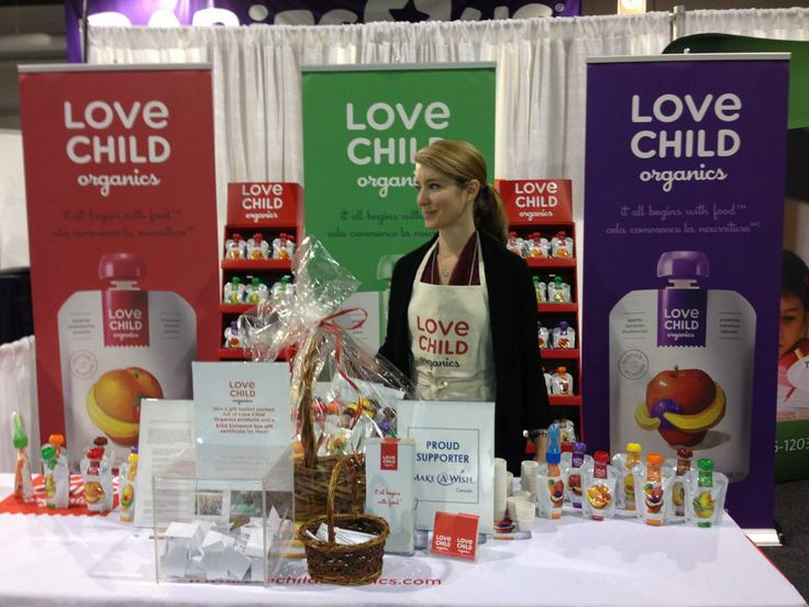 Leah at our first Toronto BabyTime Show. April 2013.