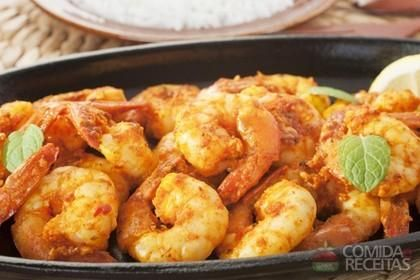 Receita de Camarão apimentado em receitas de crustaceos, veja essa e outras receitas aqui!
