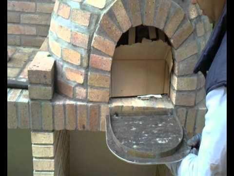 14 best construcci n de horno de le a images on pinterest outdoor oven wood oven and natural - Cocinar en horno de lena ...