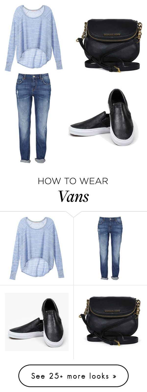"""""""Untitled #67"""" by erika-an on Polyvore featuring moda, Victoria's Secret, Vans y Michael Kors"""