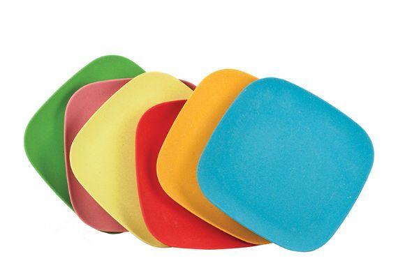 Tableware GE Bamboo Plates 6ast CLEARAN