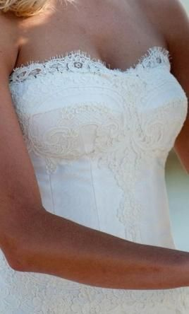Loving the neckline on this Modern Trousseau Sydney